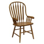 4058A Bent Paddle Arm Chair
