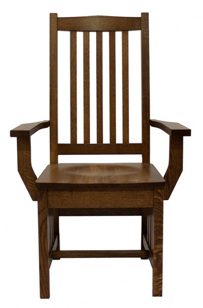 43AQS Quarter Sawn Grand Mission Arm Chair